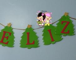 painel feliz natal (arvore)