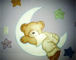 Painel Urso na Lua