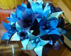Buqu� De Noiva L�rio Azul