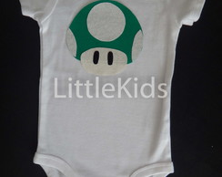 Body Carters Cogumelo Mario Bros