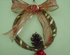 Guirlanda de Natal em Cip�