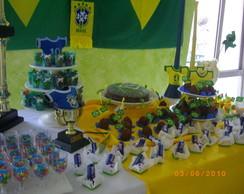 Festa Futebol do Brasil - decora��o