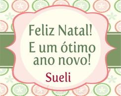 Tag Natal - Modelo 8