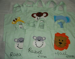 Ecobag infantil Safari