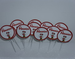TOPPERS Personalizado c/ 30 unid.