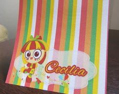 Convite S�tio Picapau Amarelo - Emilia