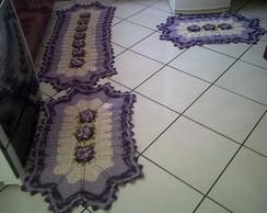 Jogo tapetes para cozinha/quarto