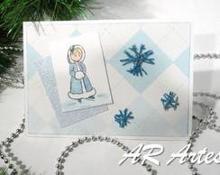 Cart�o de Natal (menina 2)