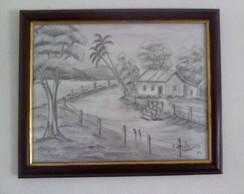 Desenho em Grafite-Paisagem