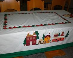 Toalha de Natal  Patchwork