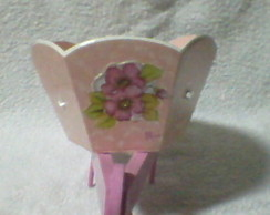 Carriola para vaso de flores