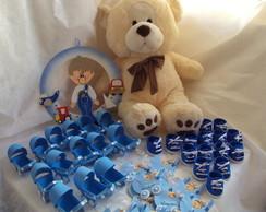 Kit Maternidade Meios de Transporte Azul