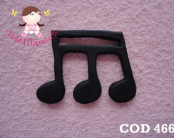 Cod 466 Molde De Nota Musical G