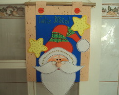 Painel de Porta Papai Noel - Ventosa