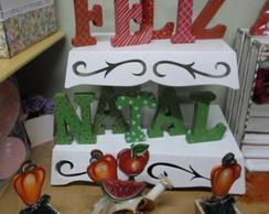 Letra Decorada NATAL15cm