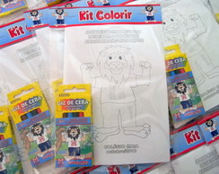 Kit Colorir Lembran�a Escolar