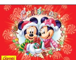 R�tulo Para Batom Mickey E Minnie Natal