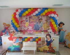 Decora��o Princesas Clean
