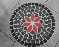 Mesinha Redonda Em Mosaico