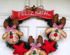 Guirlanda de Natal Renas