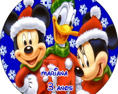 Latinha Mickey E Minnie Natal