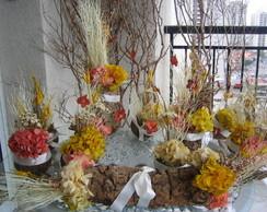 Conjunto de Flores secas para festas VI