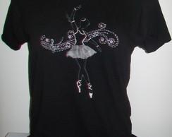 Camisa Pintada e Customizada