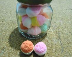 Vidro M�dio Cupcakes