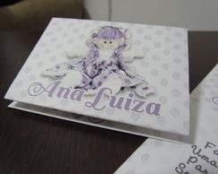 Convite Purple Doll