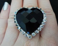 Anel Black Heart
