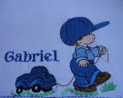 Kit fralda menino com carrinho