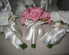 Mini Bouquet para damas ou madrinhas VII