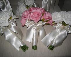 Mini Bouquet para damas ou madrinhas VII