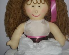 Boneca de Pano para Daminha