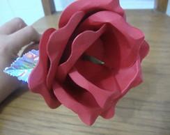 Rosa para bombom