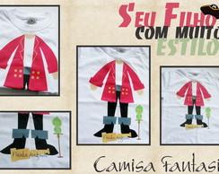 Camisa Fantasia Pirata