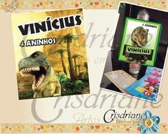 Etiqueta Para Tubetes Dinossauro Rex