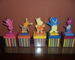 "CENTRO DE MESA MDF ""THE BACKYARDIGANS"""