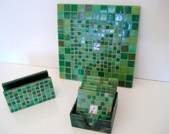 Conjunto Utilit�rio - Tons de Verde