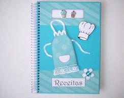 Caderno de Receitas VENDIDO
