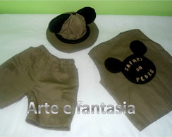 Fantasia Infantil Safari Mickey 2