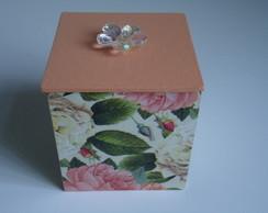 Caixinha Floral com Sabonete