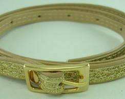 Cinto dourado Com Glitter (ref: Ct023)