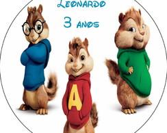 Latinha Alvin e os Esquilos