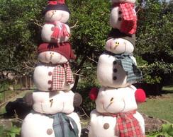 Pilha de Boneco de Neve