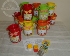 Mini Leiteira 400ml com kit escolar