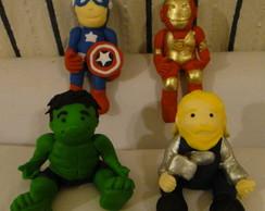 Bonecos Modelados Os Vingadores