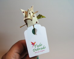 Lembrancinha L�pis personalizado origami