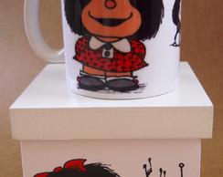 Caneca Mafalda Com Caixa