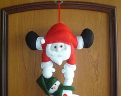Enfeite de Porta - Papai Noel